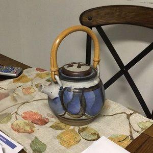 Vintage Accents - Pottery Teapot